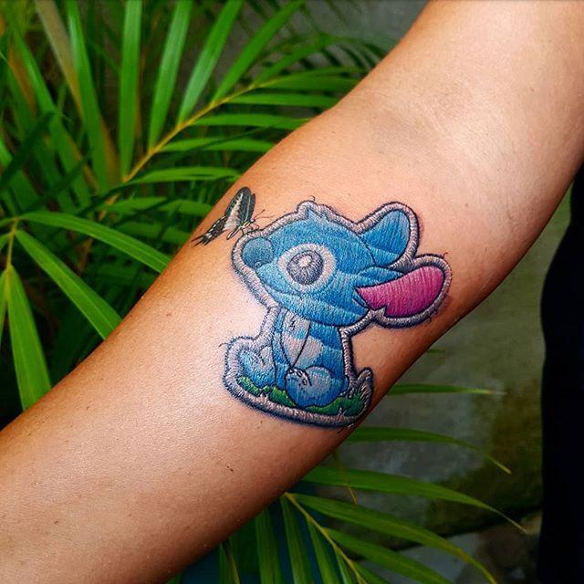Trendy 2019 Haftowane Tatuaże Kolorowe Wzory Które Są