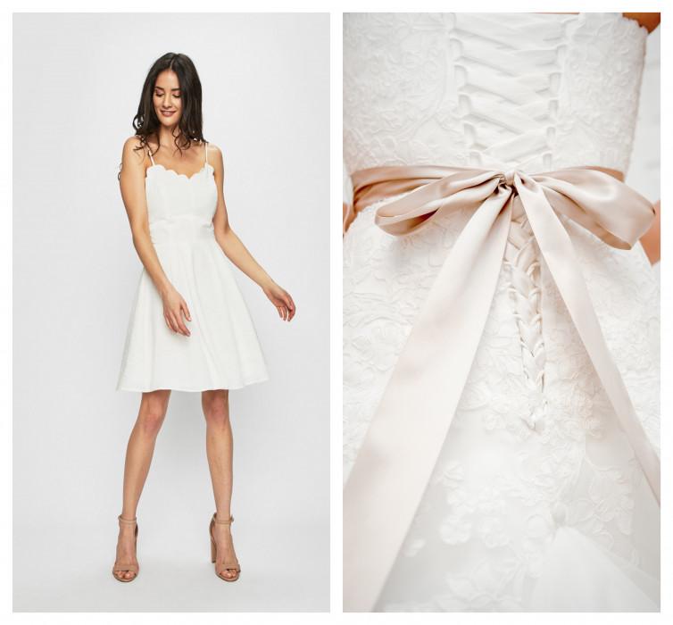 053484f9981011 Białe sukienki z sieciówek, które wyglądają jak ślubne - wybraliśmy  najlepsze modele!