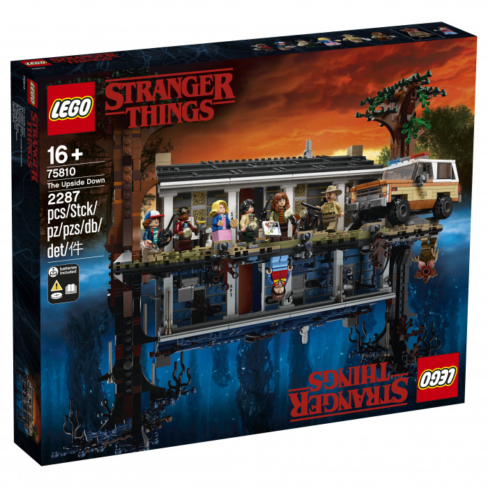 Zestaw LEGO x Stranger Things