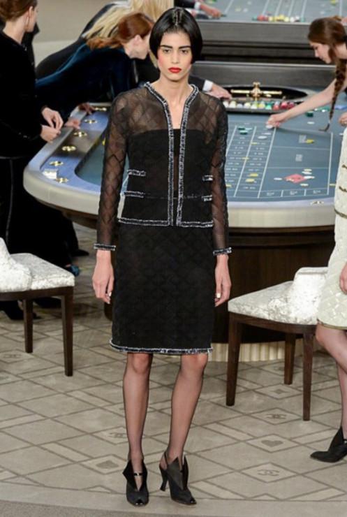 Chanel Haute Couture jesień-zima 2015 2016 - Glamour.pl 6160f5719e6
