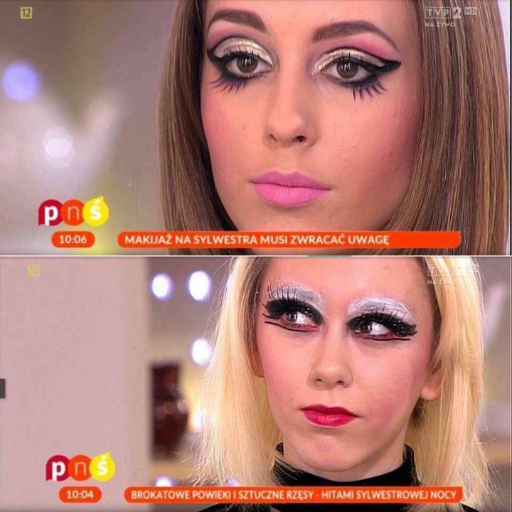 Maffashion Odtworzyła Makijaż Z Pytania Na śniadanie Glamourpl