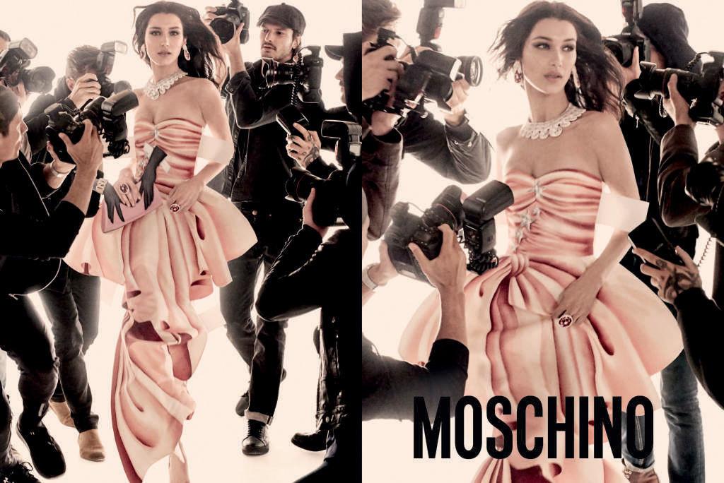 Moschino wiosna 2017 - Bella i Gigi Hadid w najnowszej kampanii Moschino