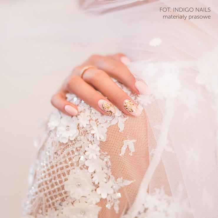 Paznokcie ślubne 2018 Trendy W ślubnym Manicure Glamourpl