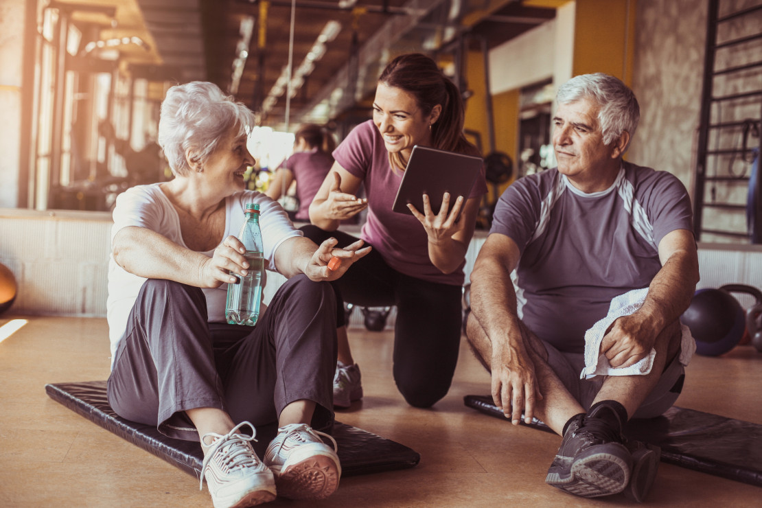 Trend # 4: Fitness programs for seniors - Fit-trends 2019. 5 forms of physical activity that you will want to try