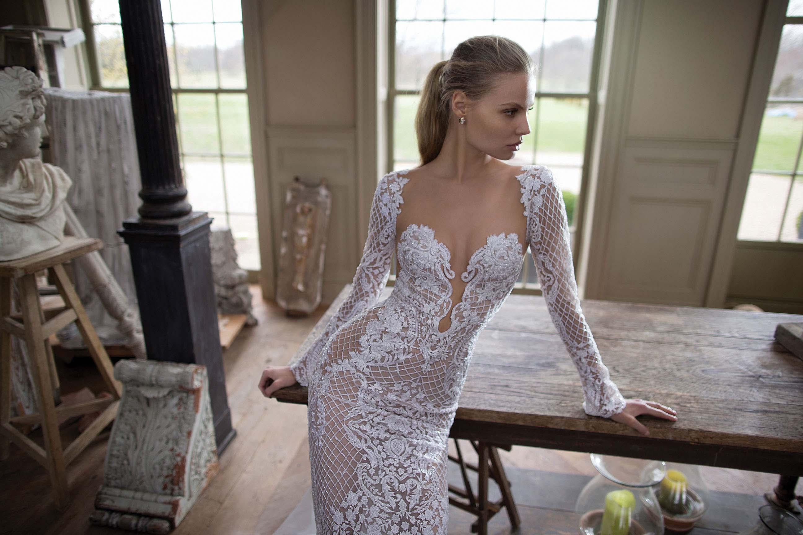 553ccac0bf Magdalena Frąckowiak w kampanii sukien ślubnych Berta Bridal - przepiękne  zdjęcia! - Glamour.pl