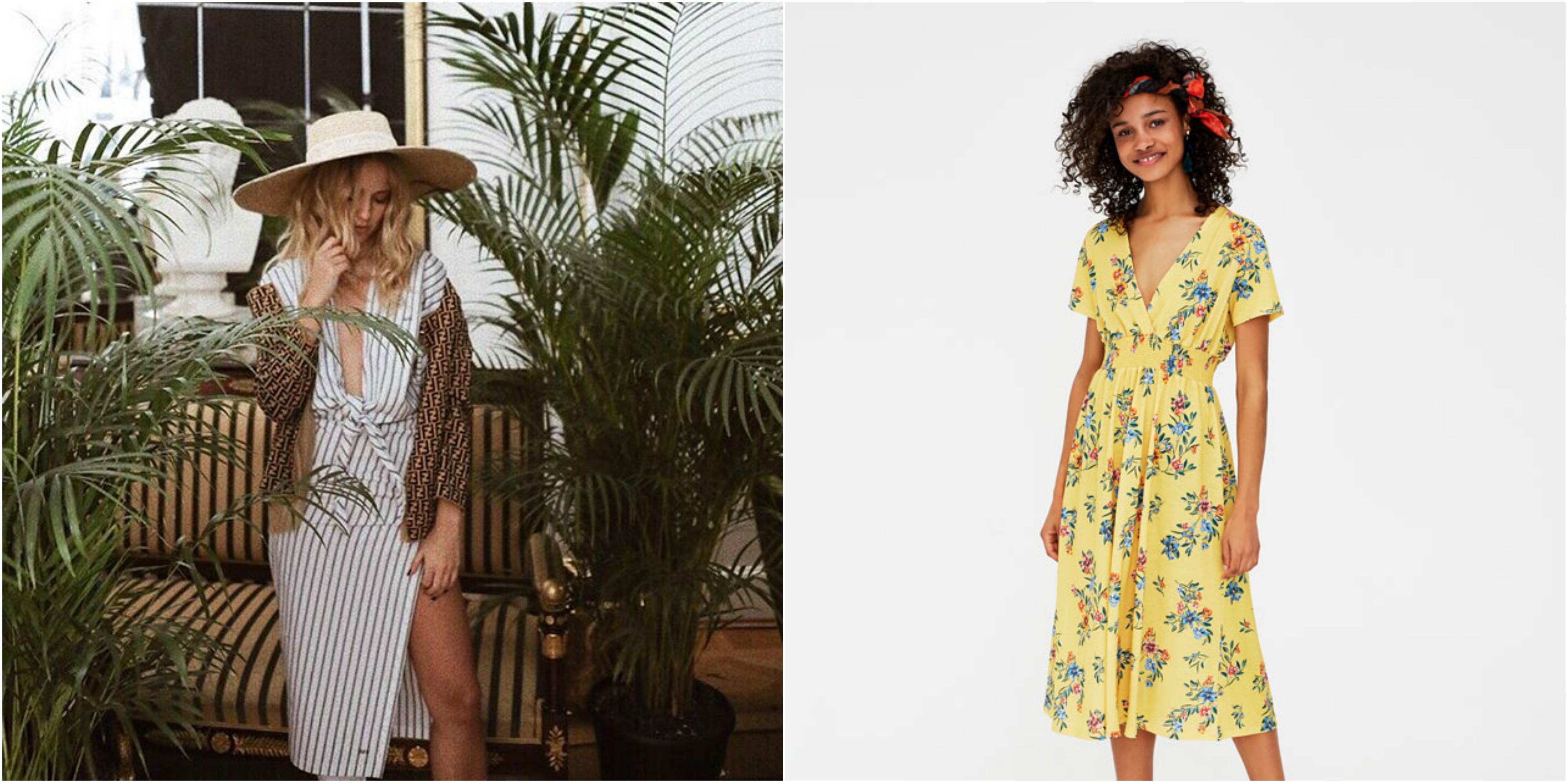 301441ac33 Najpiękniejsze sukienki z sieciówek na wiosnę 2018 - Glamour.pl