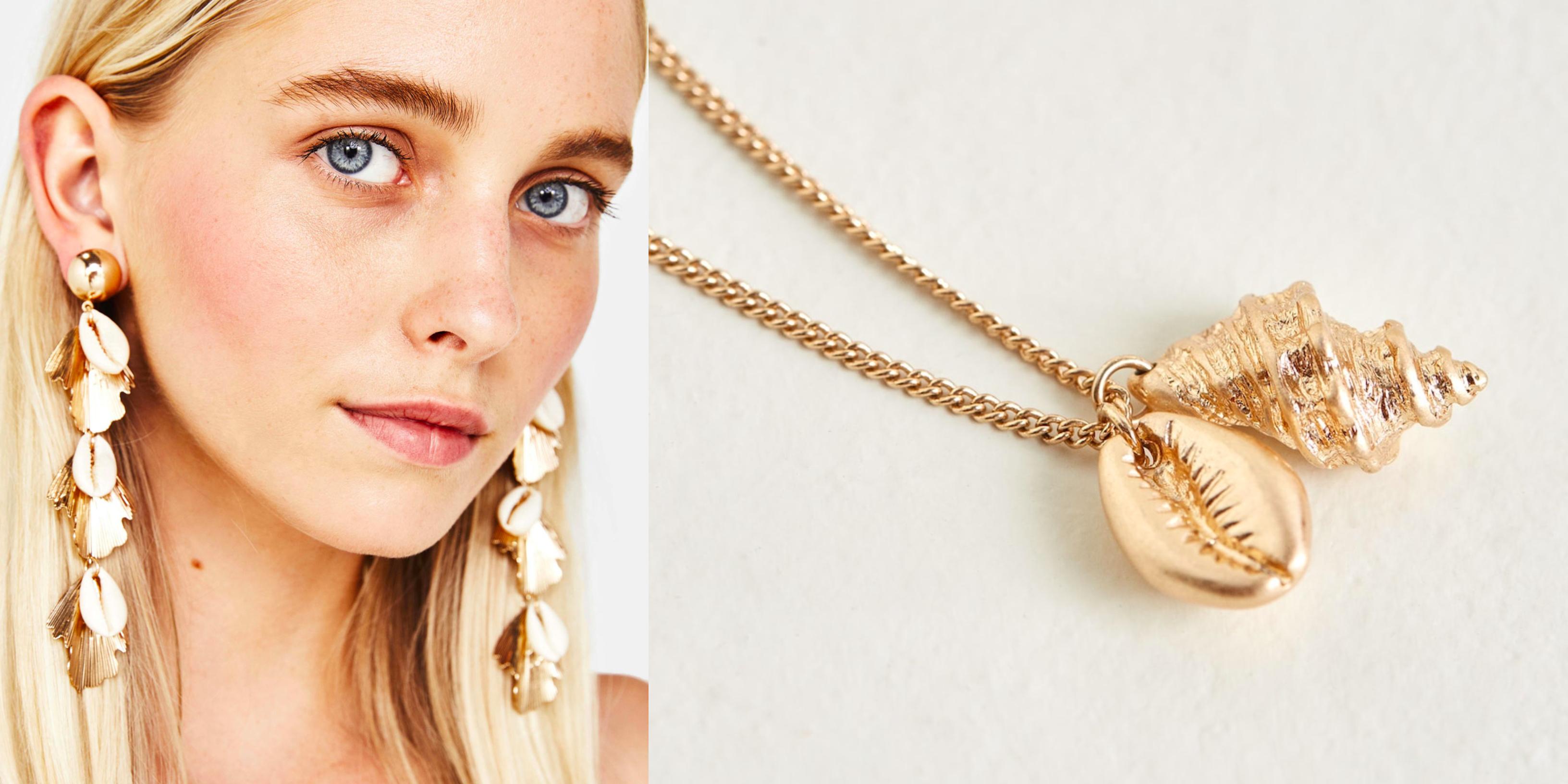 Trendy 2018 – modna biżuteria z muszelkami na lato (i nie