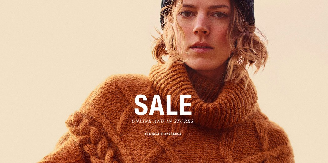 fd261ed9 Zara Winter Sale 2018: We know when it starts! Special opening hours of the  shops