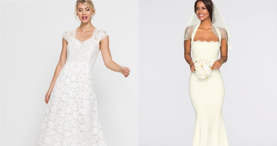 9e444d4cf9932 Suknia ślubna z sieciówki - wiemy, gdzie kupicie ją za mniej niż 150 zł! -  Glamour.pl