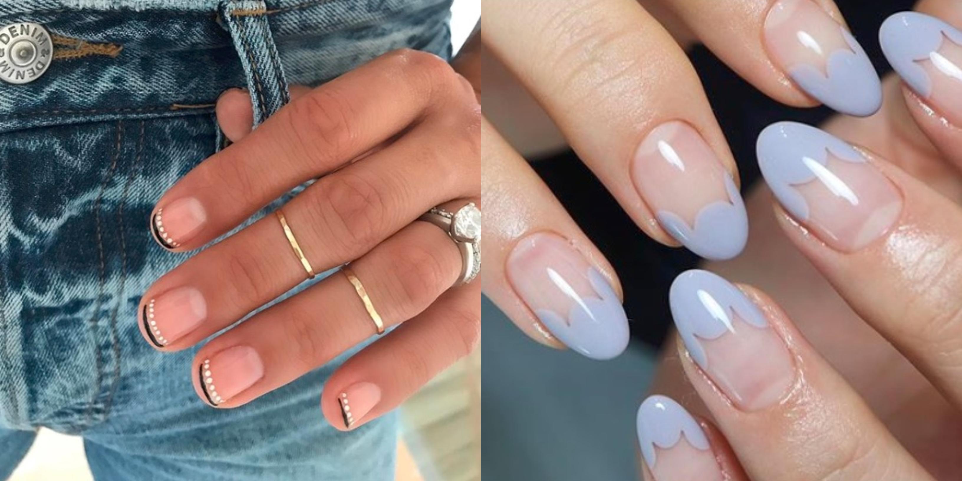 Modne Paznokcie 2019 French Manicure W Nowym Wydaniu Glamour Pl