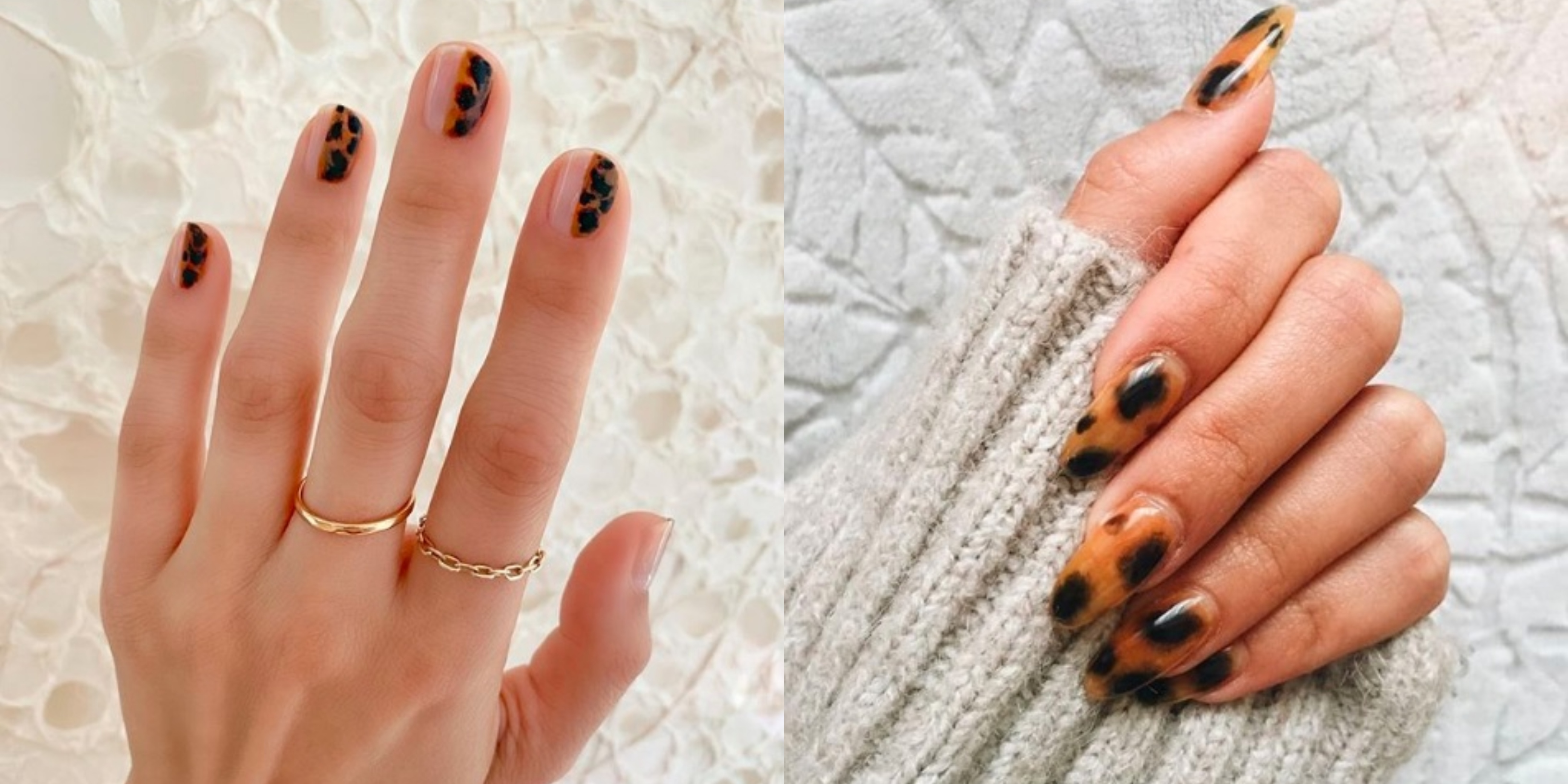 Trendy Jesien 2019 Tortoiseshell Manicure Czyli Modne Paznokcie
