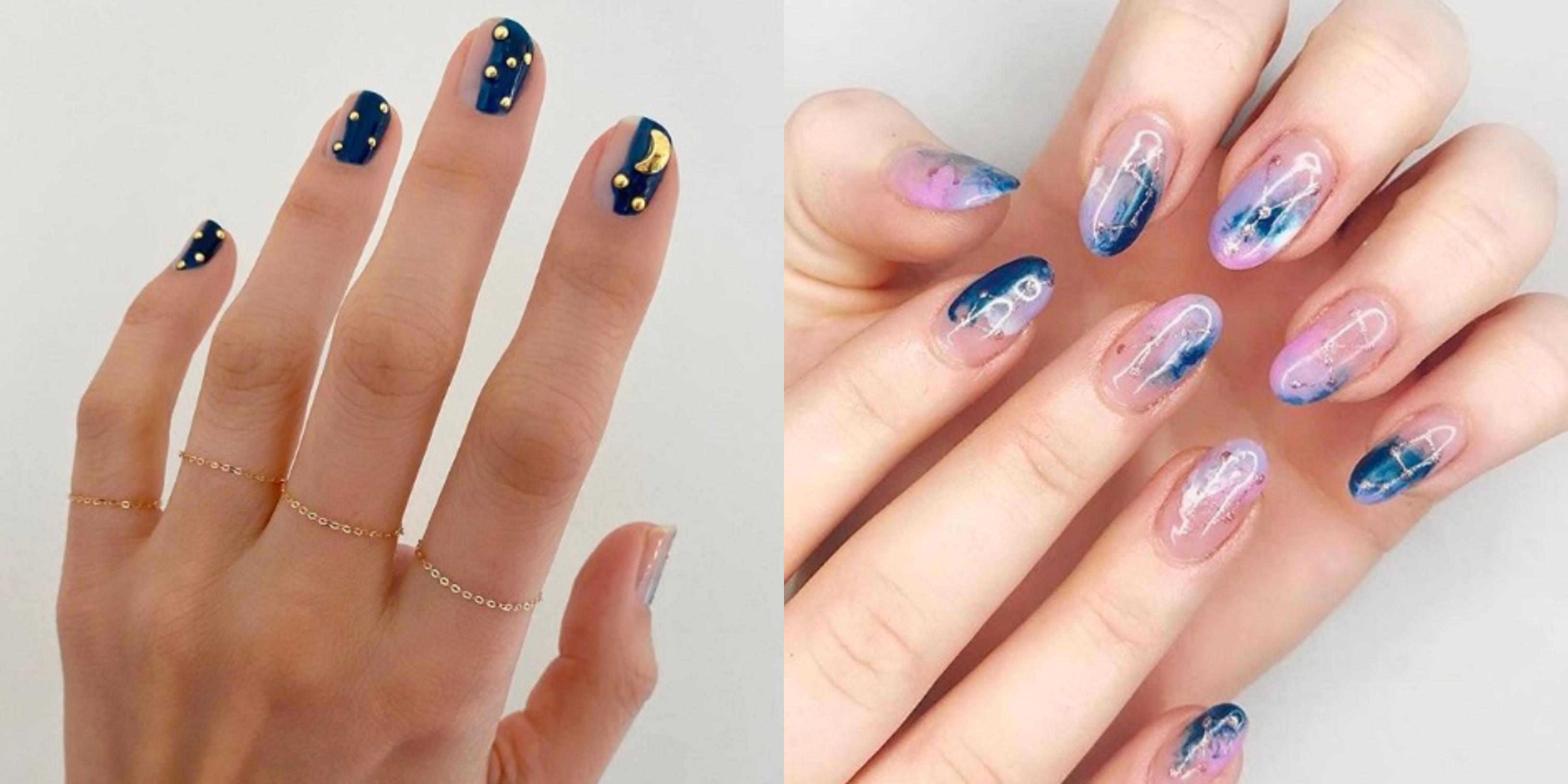 Trendy Wiosna 2020 Astro Nails Czyli Modne Paznokcie Dla Fanek