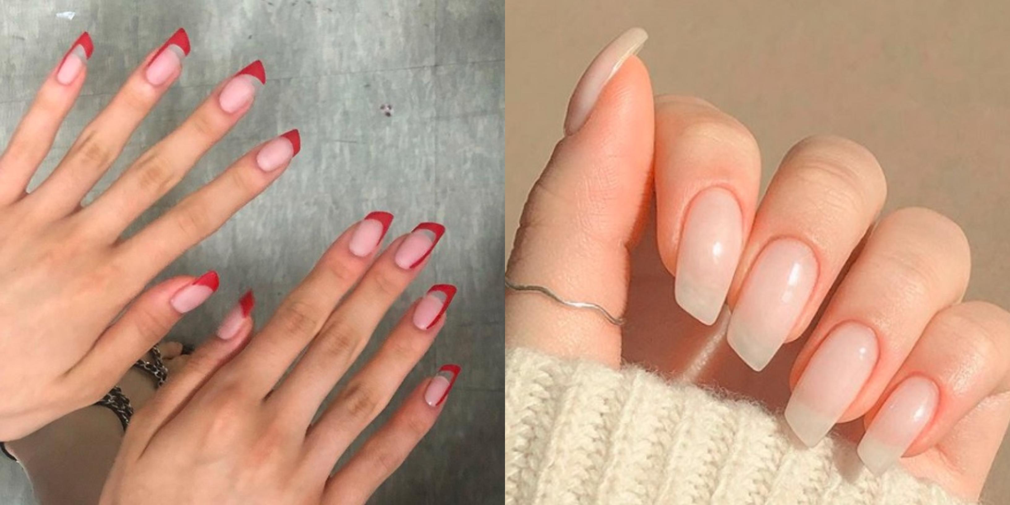 Trendy Wiosna 2020 Lipstick Nails Czyli Paznokcie W Ksztalcie